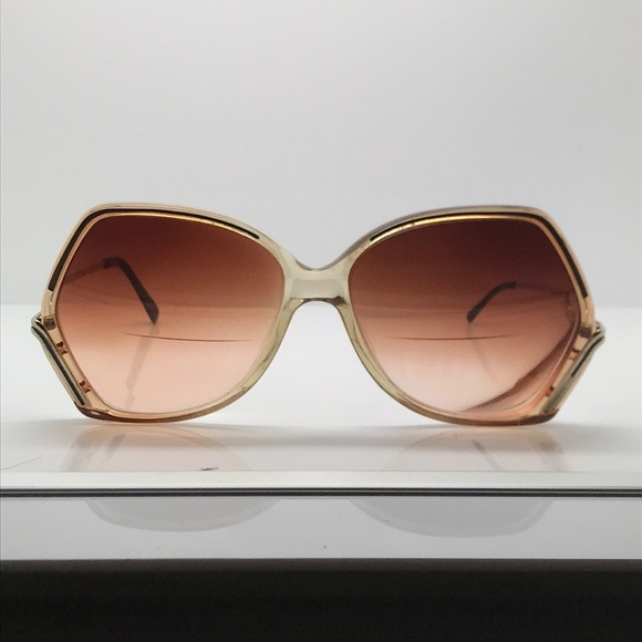 a7ad49fd7020 Luxottica Accessories - Vintage Luxottica Gold Butterfly Sunglasses Frames